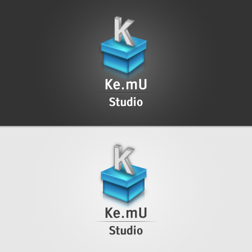 Ke.mU Studio Logo Concept