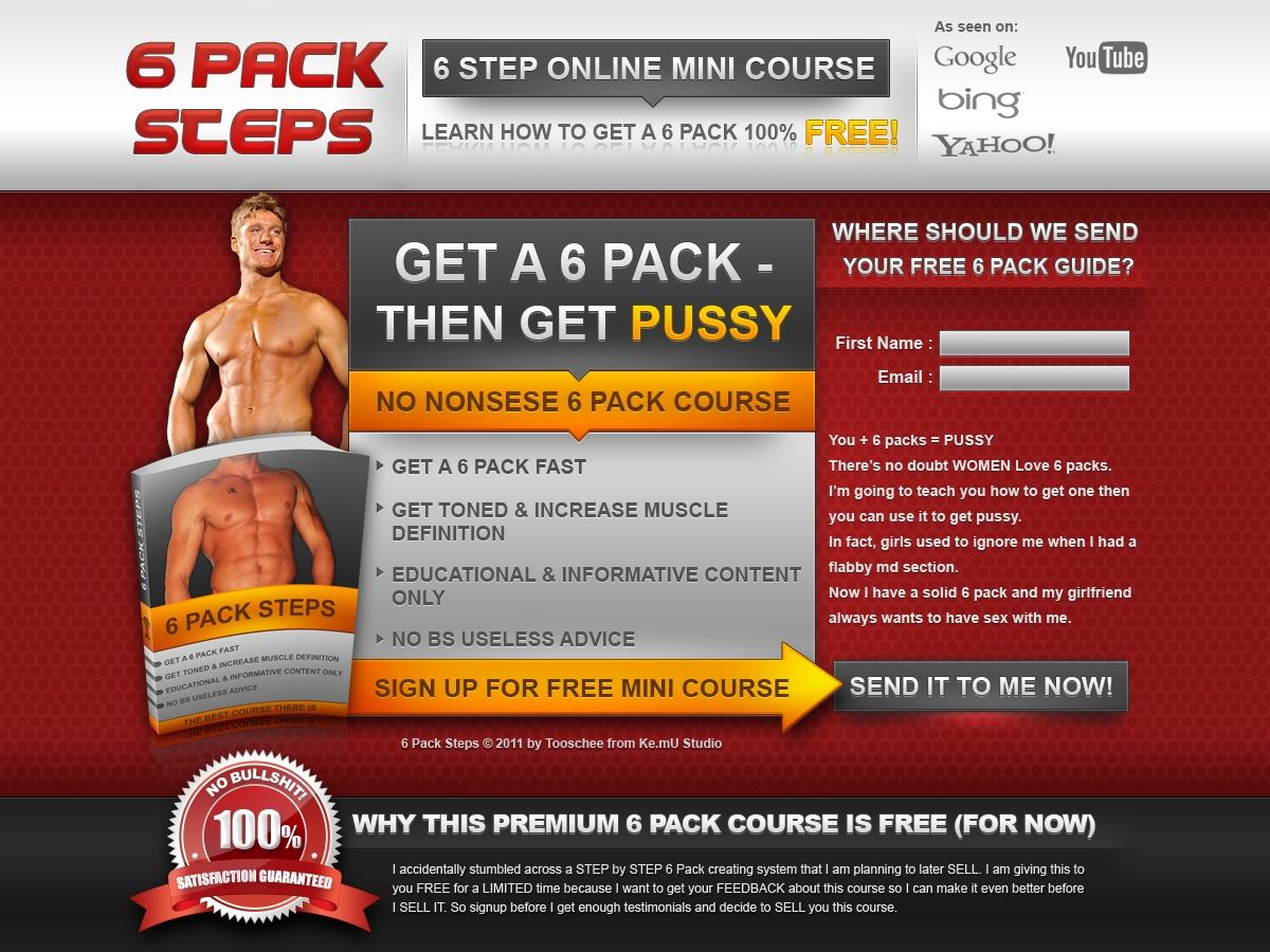 6 Pack Steps