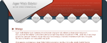 Ager Web Edytor