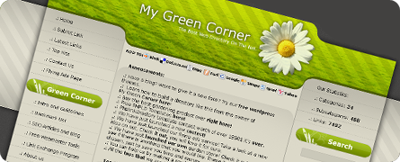 My Green Web Corner v.2.0