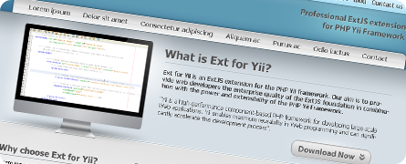 ExtJS for Yii