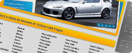 Yellow USA Pages