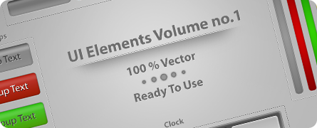 UI Elements Vol.1