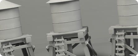 Water Tower Model