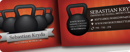 Kettlebell Instructor Business Card