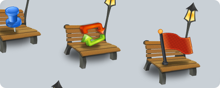 Benched Icon Set